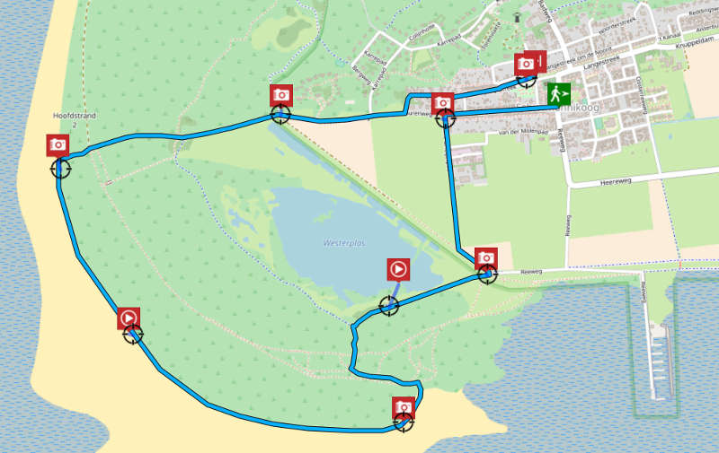 Tjatteljued route